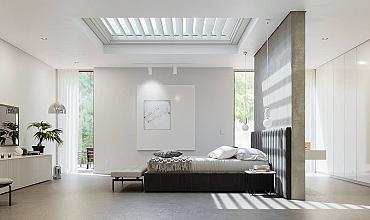Aerolux Inschuifbaar lamellen dak (+ kantelbare lamellen) Inbouw